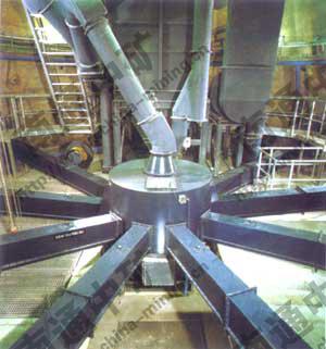 生料分配器是水泥工业气动化装置,主要用在分配干燥粉状物料,它适用