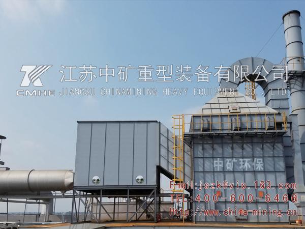 定型烘干机静电出油系统工程
