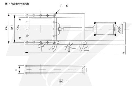 QTLV-0.1气动推杆平板闸阀