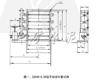 ZSy/cVb-0.5手动百叶圆式(窗式)阀